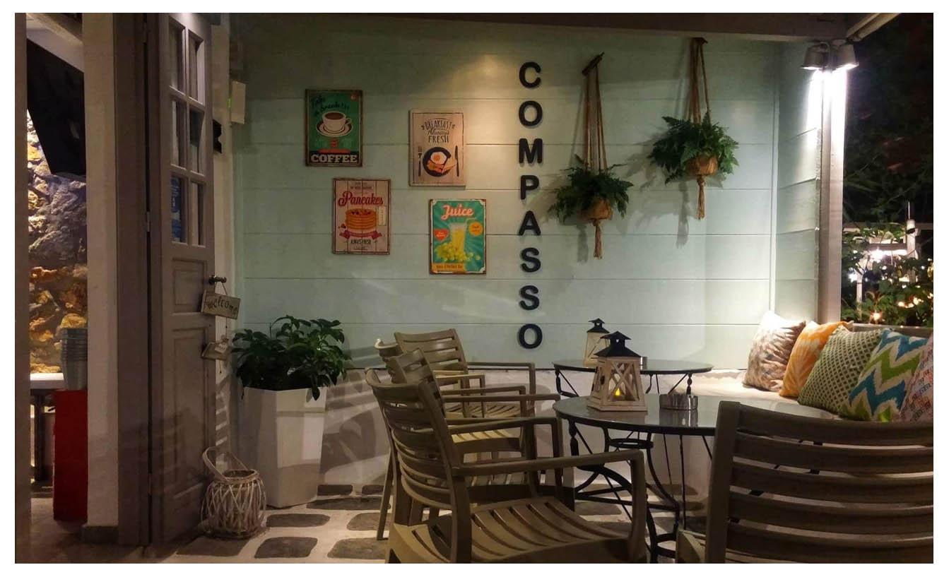 Compasso - breakfast - Serifos