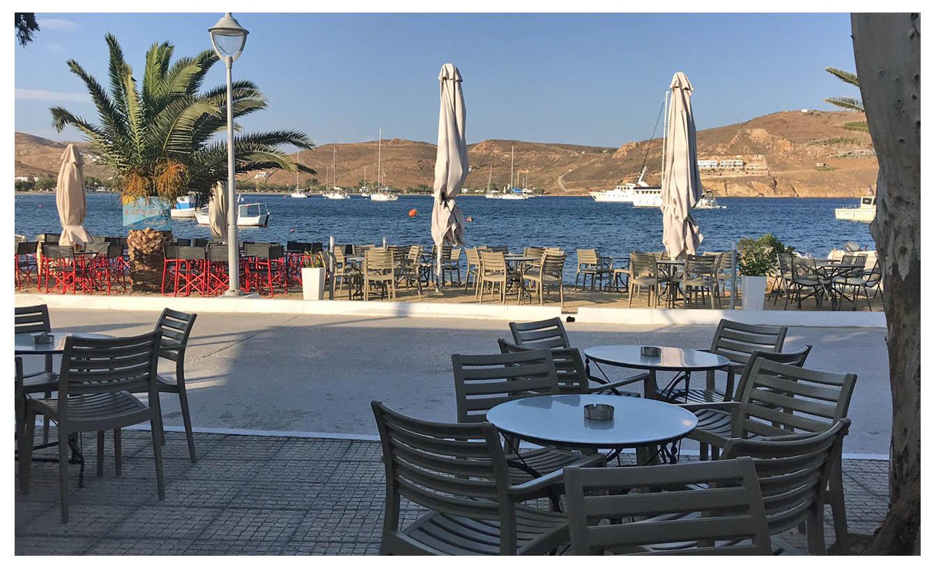 Compasso - snack and brunch - Serifos