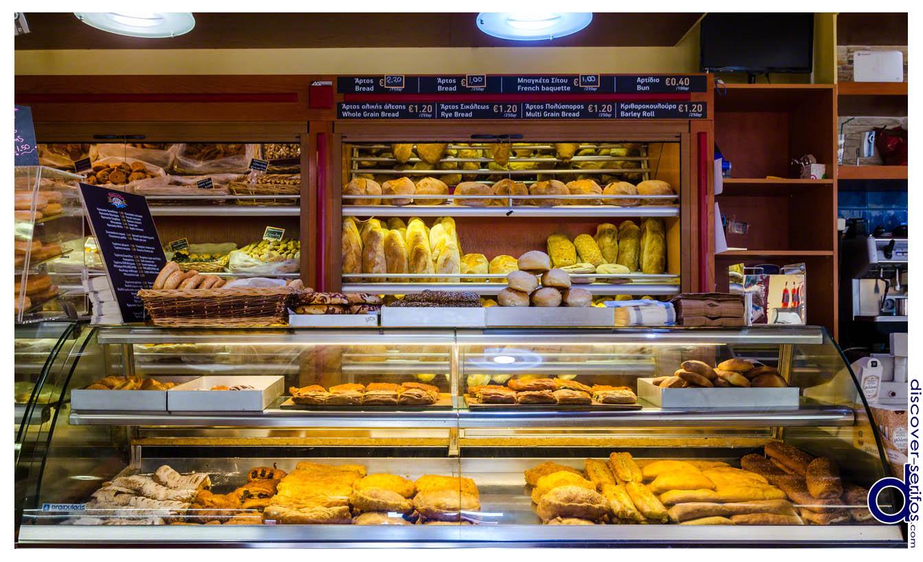 Epiousion Bakery in Serifos