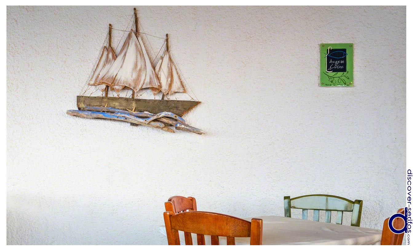 Nikoulias - Restaurant - Serifos
