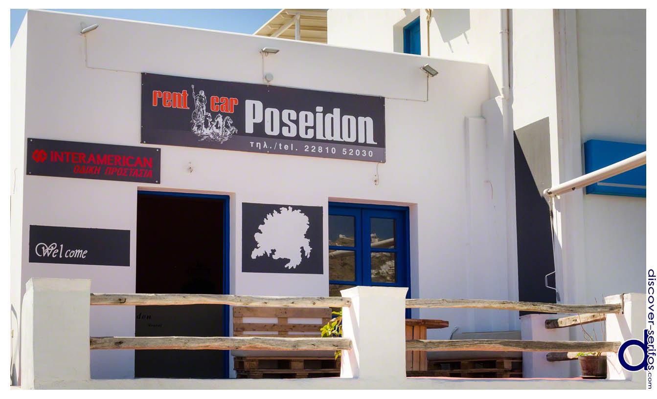 Poseidon in Serifos