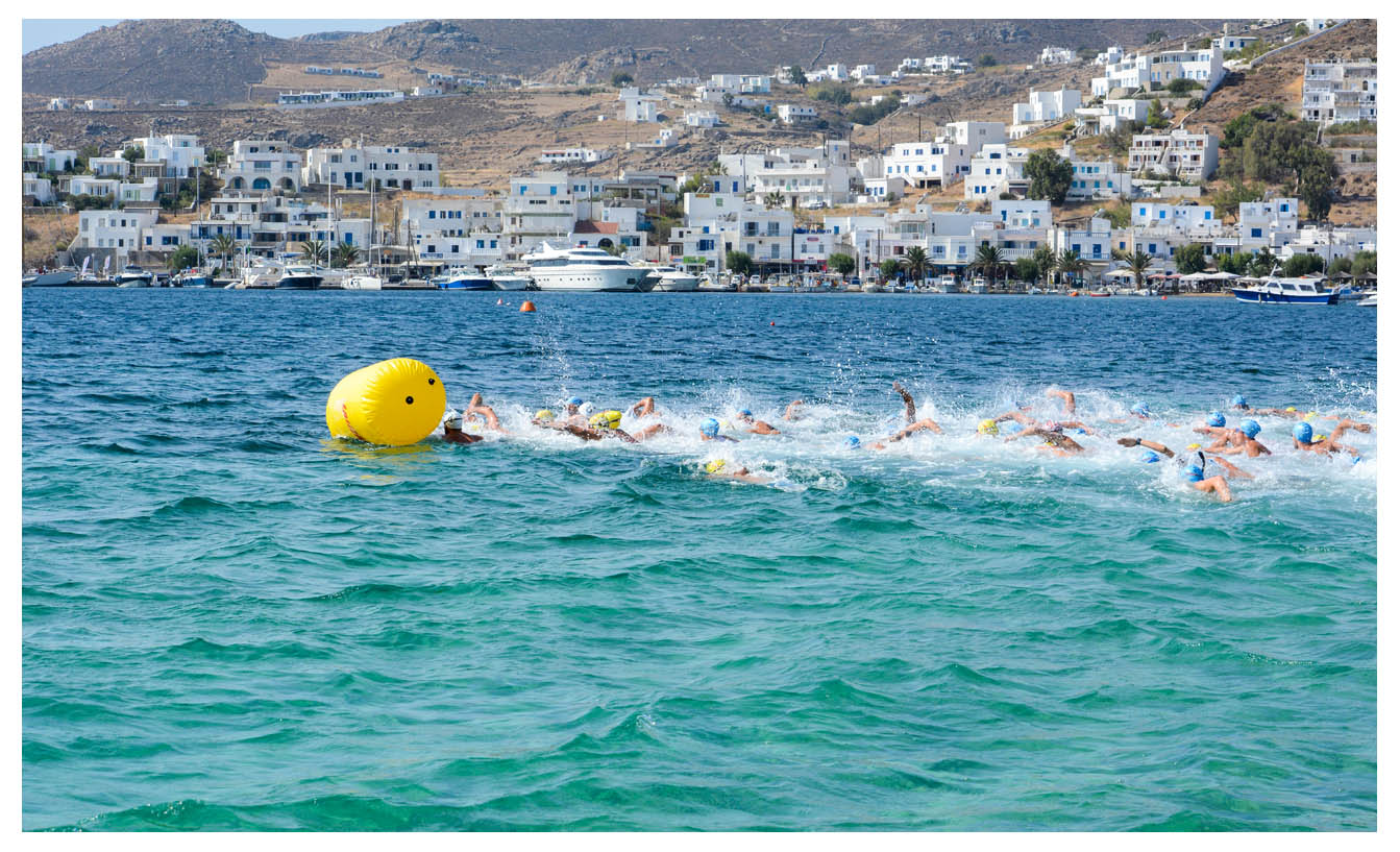Serifos Sunset Race - Swimming