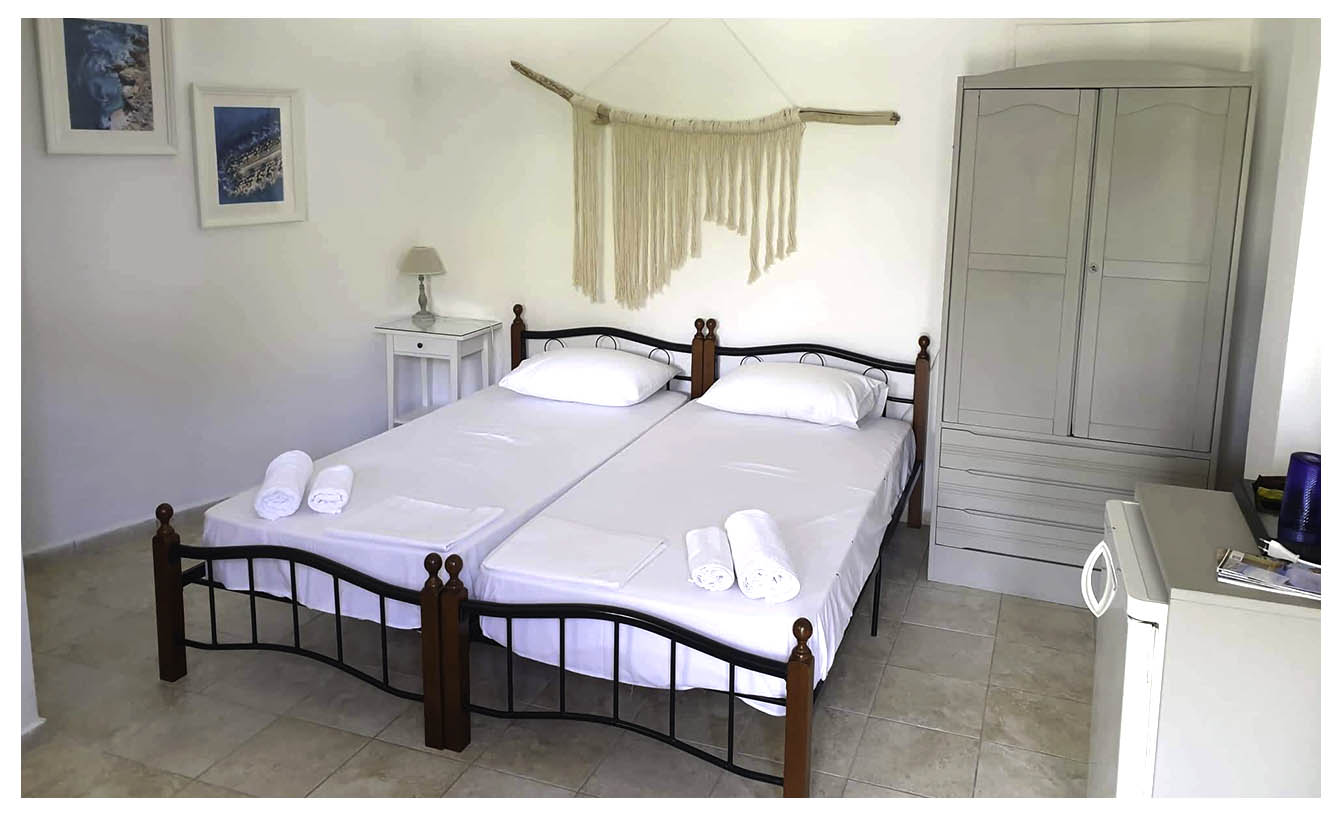 Σέριφος - Ενοικιαζόμενα δωμάτια και διαμερίσματα - Ακτή