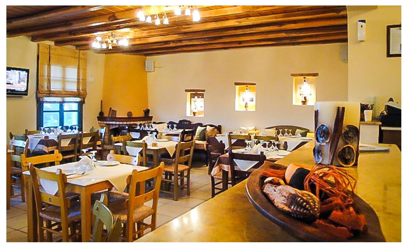 Εστιατόρια στη Χώρα Σερίφου - Αλώνι