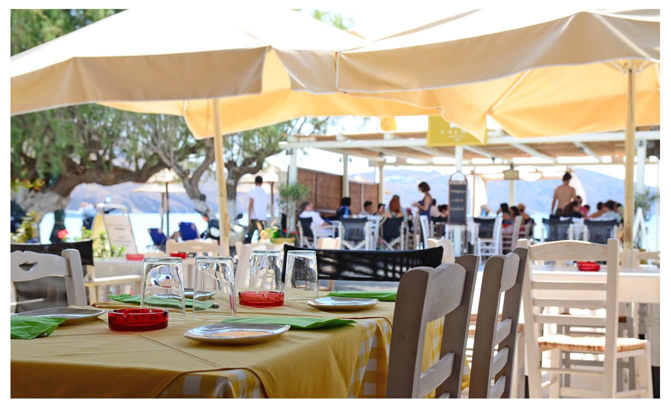 Beach Bar στη Σέριφο - Calma