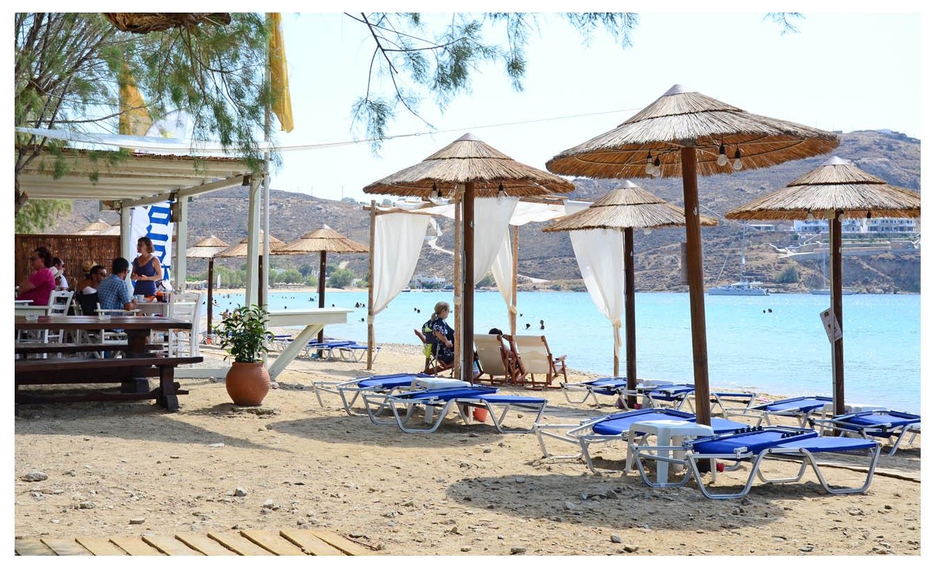 Σέριφος - Beach Bar - Εστιατόριο - Calma