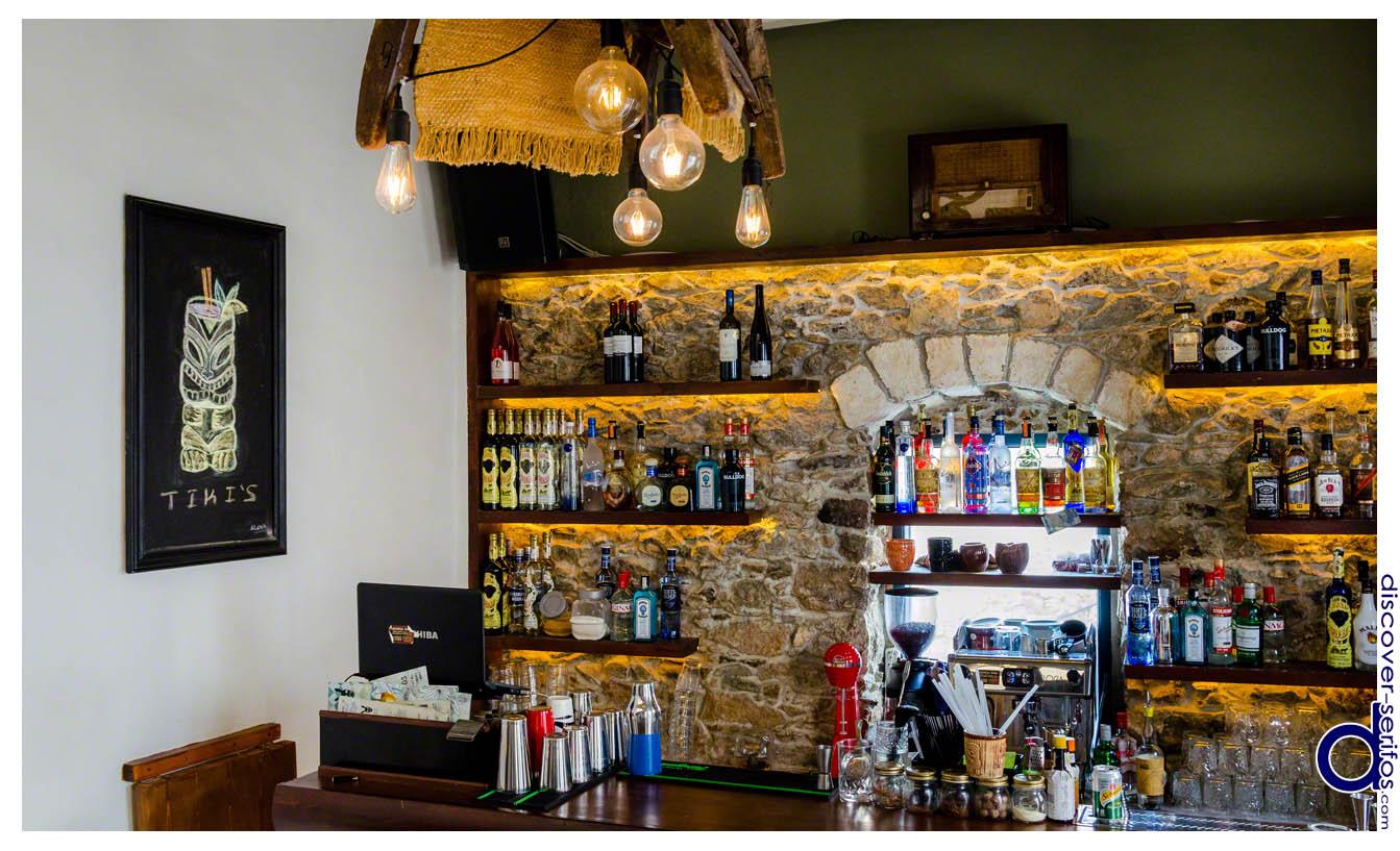 Serifos Xwra - Gaidaros bar