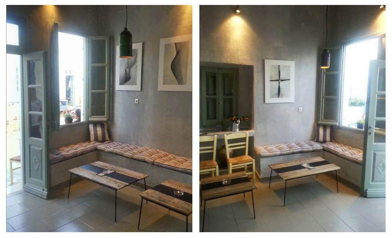 Πάνω Πιάτσα - Παραδοσιακό καφενείο - Σέριφος