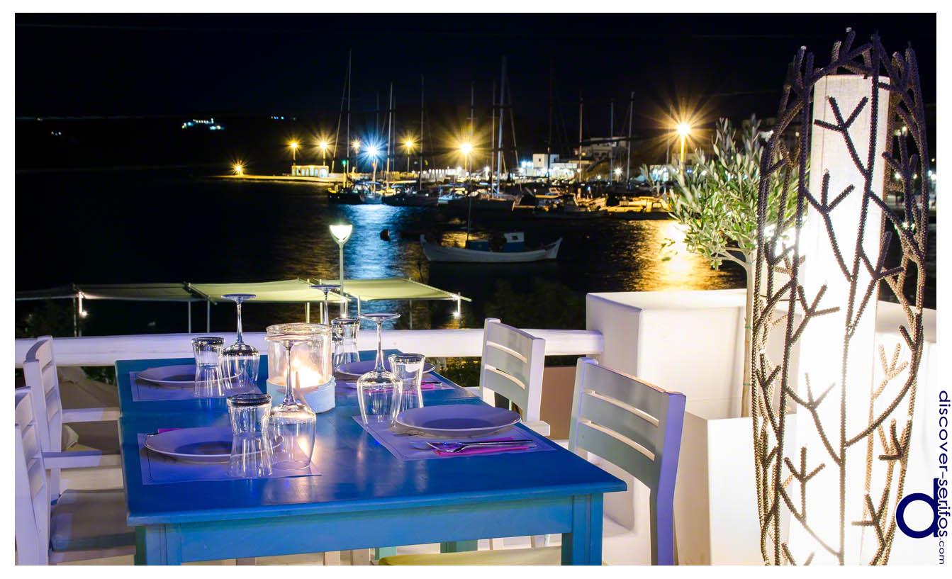 Σέριφος - Εστιατόρια - Υδρόλιθος