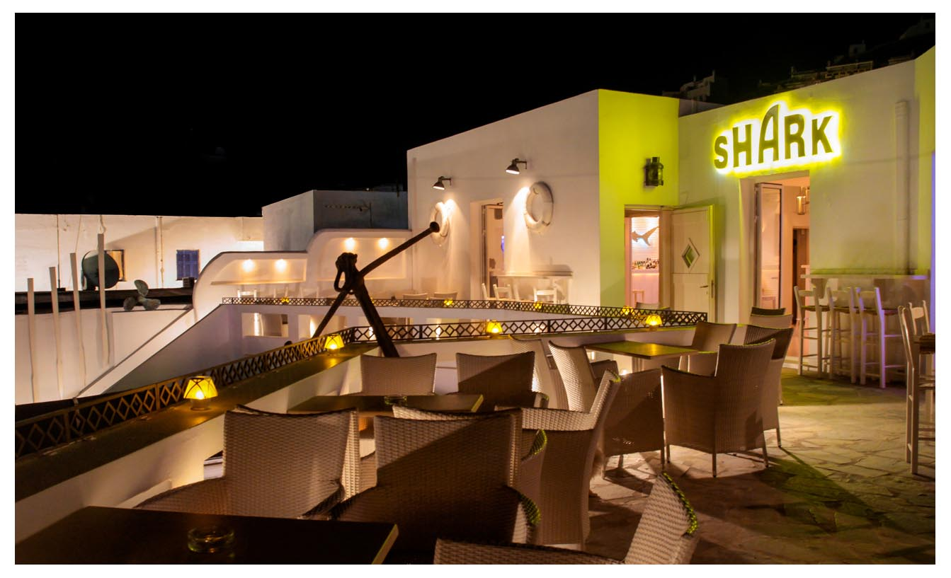 Shark - Bar Club - Livadi - Serifos