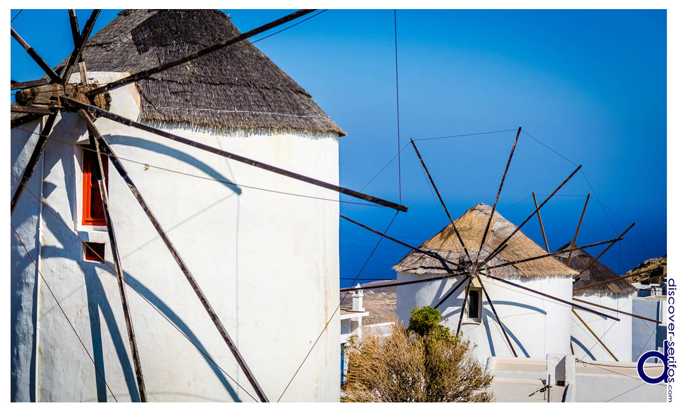 Ano Chora - Windmills of Serifos