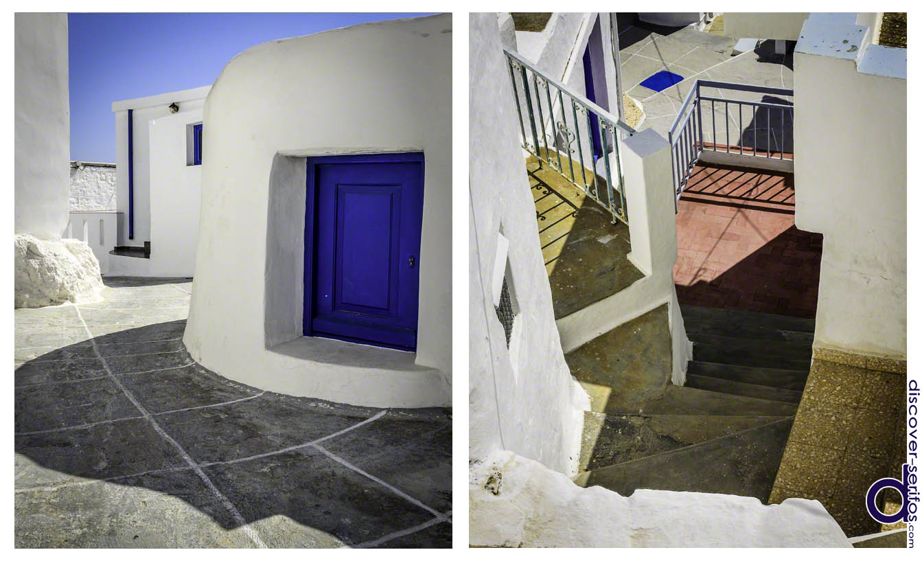 Architecture of Kato Chora in Serifos
