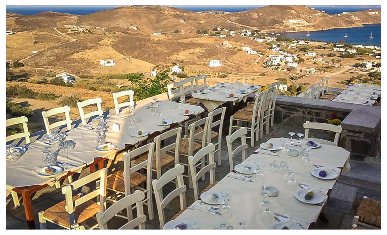 Serifos restaurants - Aloni