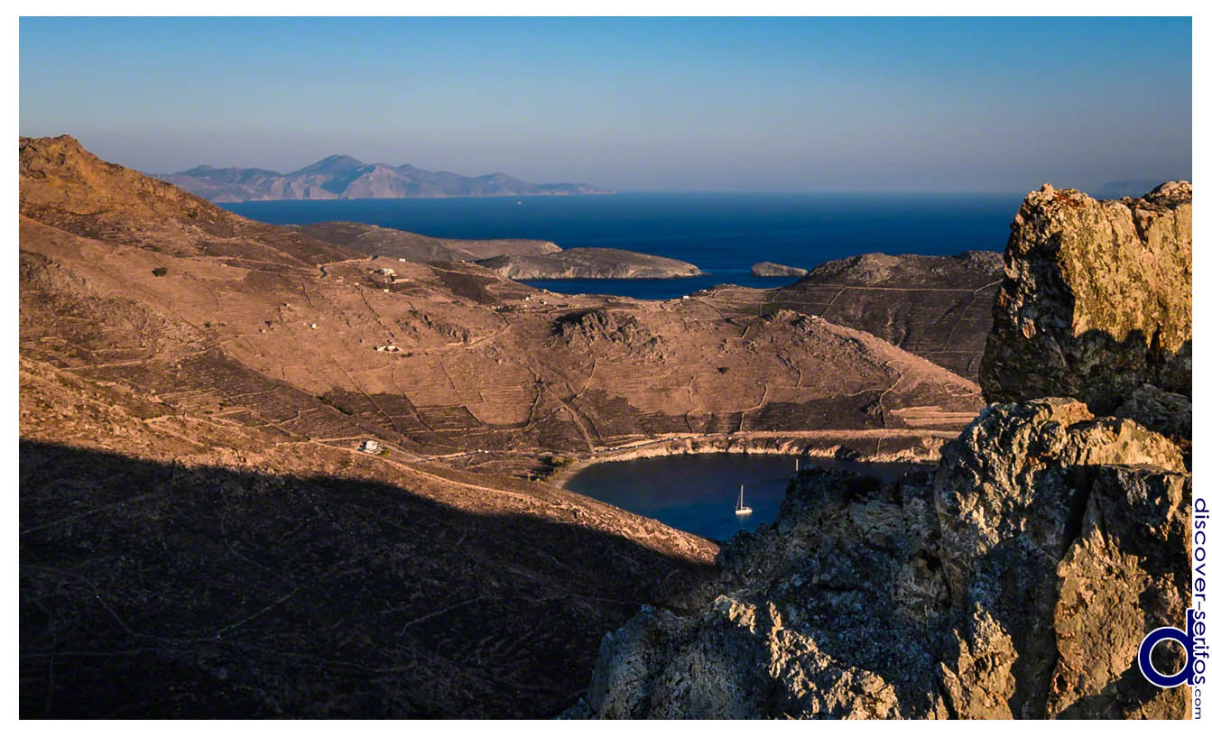 The barren land of Serifos - Cyclades