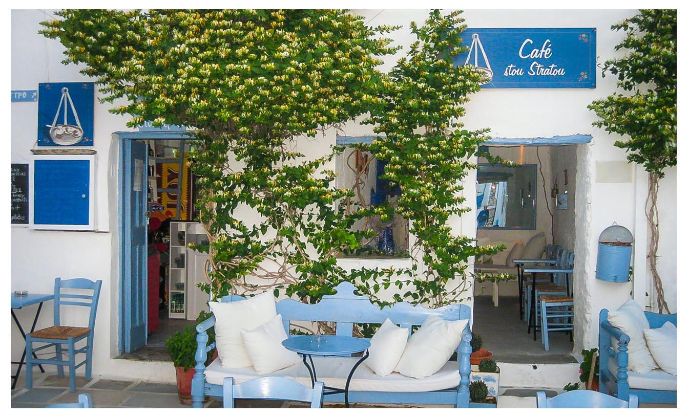 Chora - Serifos - Café Stou Stratou