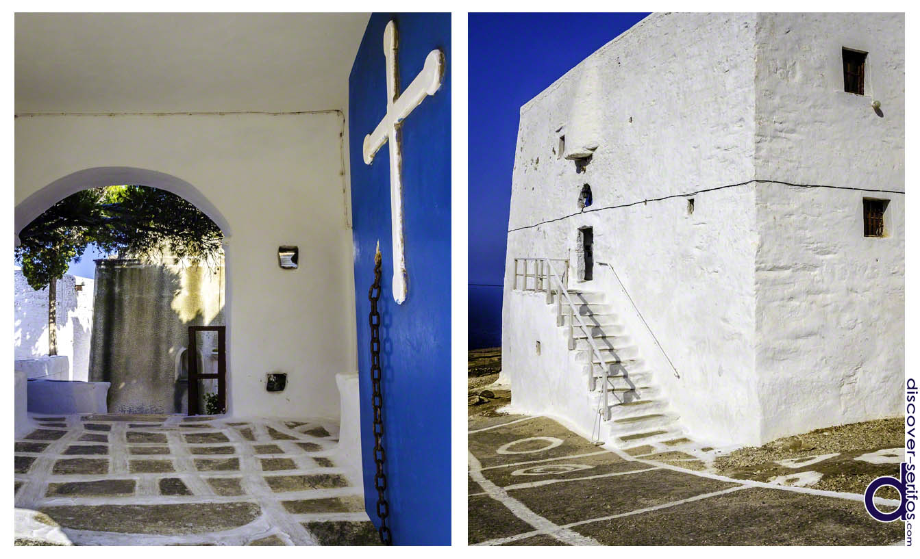 Fort-Monastery of Taxiarches in Serifos
