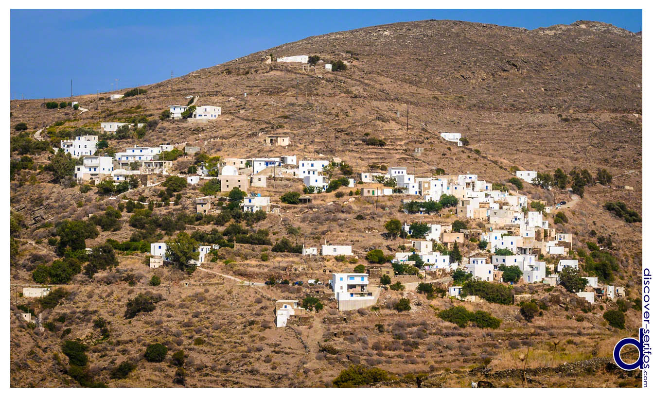 Galani village in Serifos