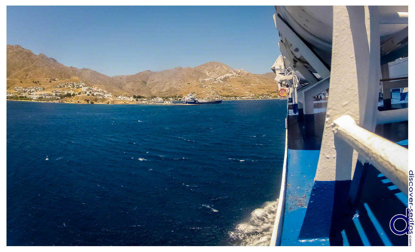 Getting to Serifos by ship