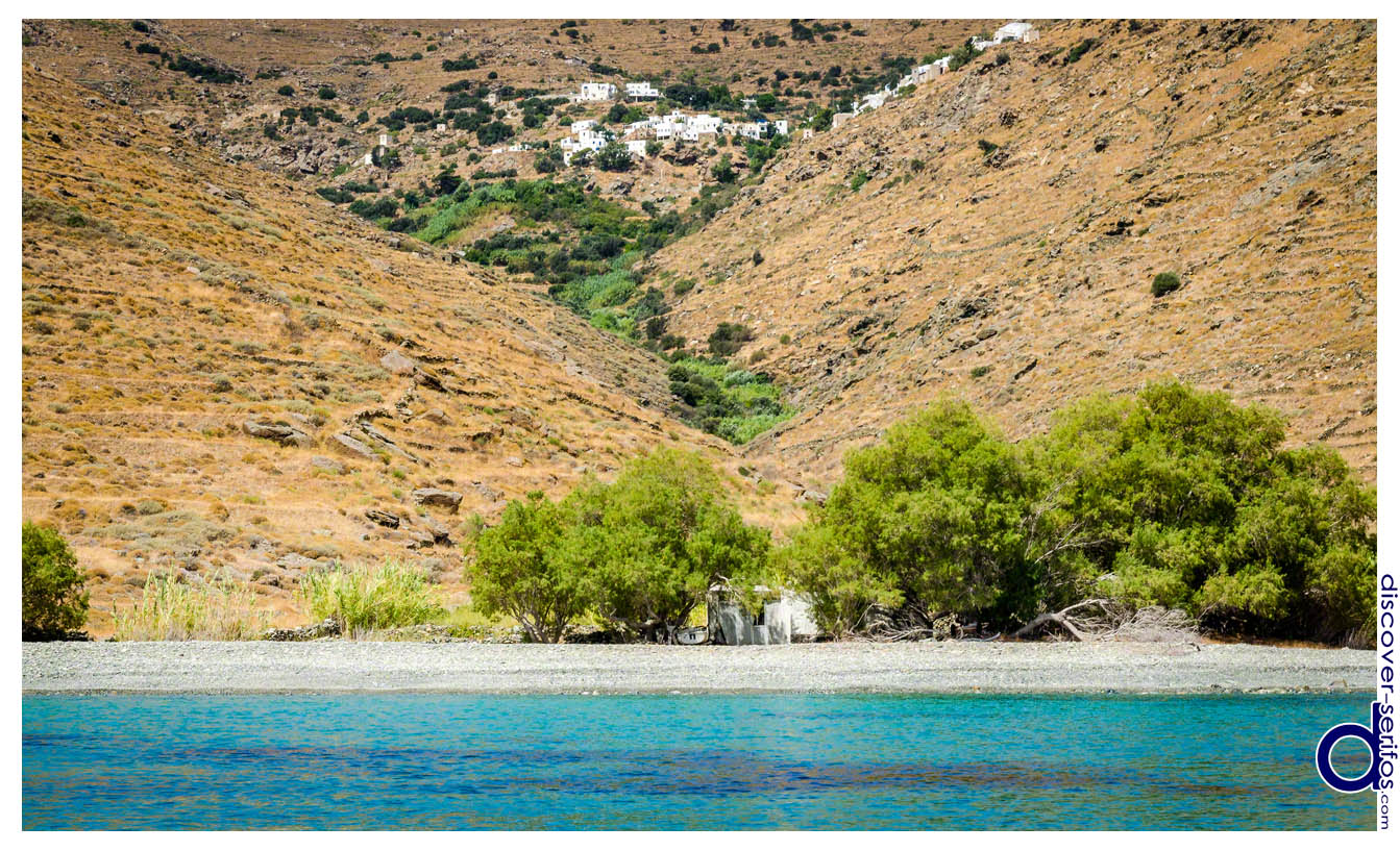 Kallitsos and the beach of Kentarchos