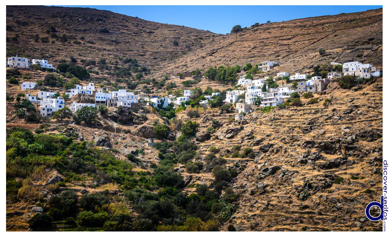 Kallitsos village in Serifos