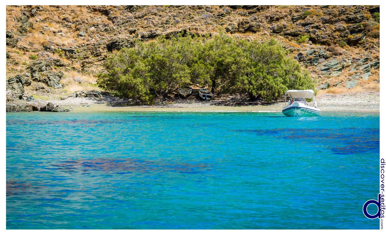 Karavas beach Serifos