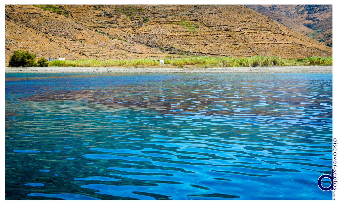 Karavas beach in Serifos