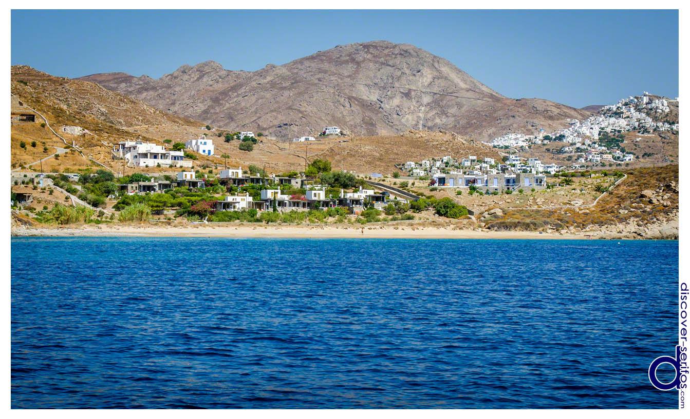 Karavi beach in Serifos