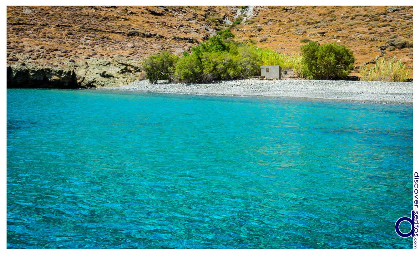 Kentarchos beach Serifos