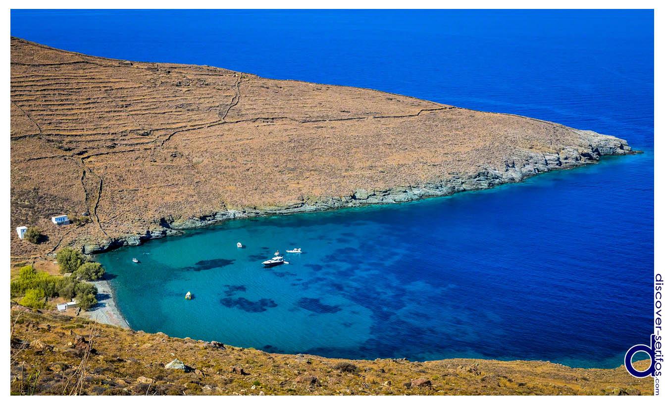 Kentarchos beach in Serifos