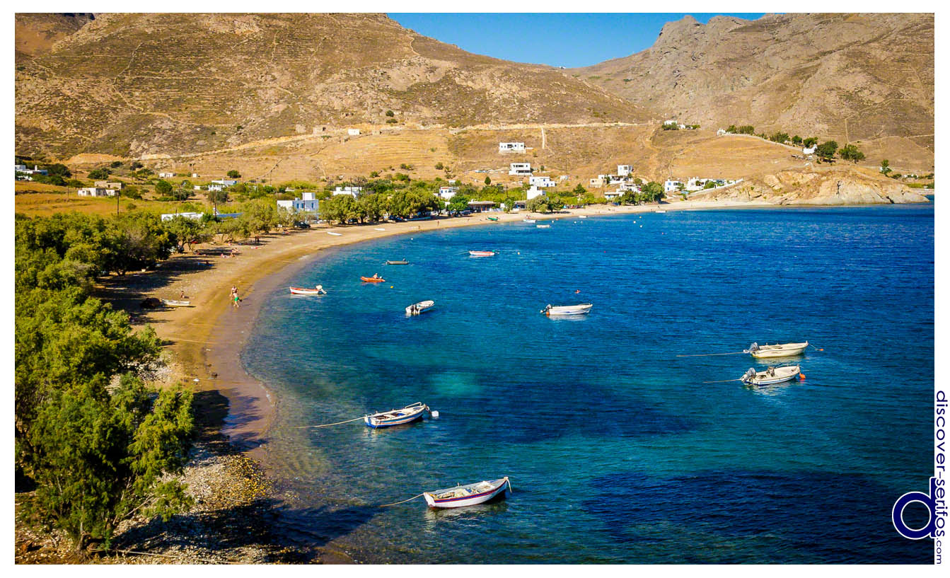 Koutalas beach in Serifos