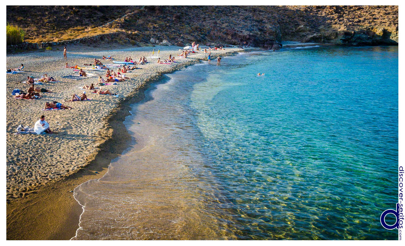 Lia beach in Serifos