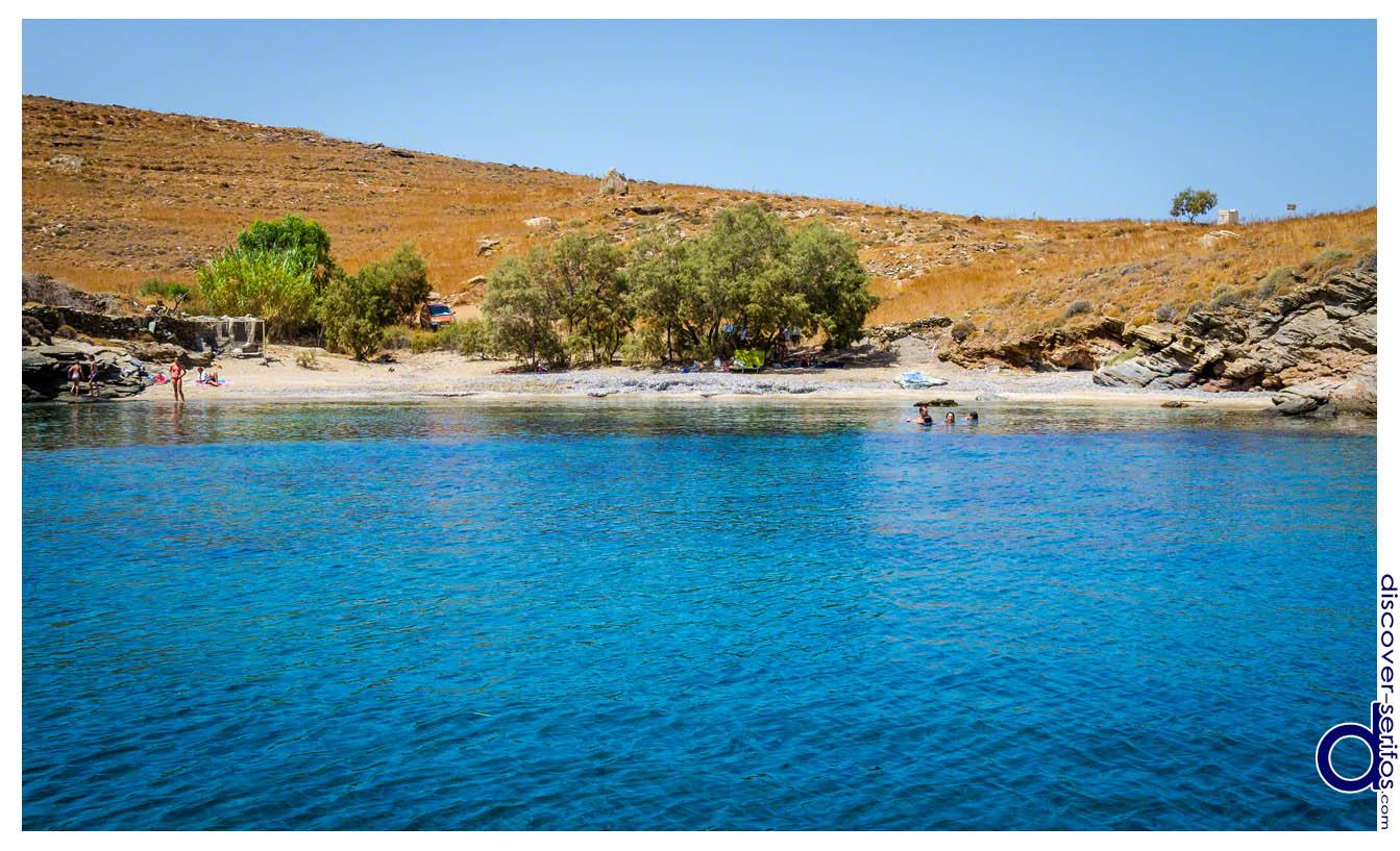 Mesiano beach - Serifos