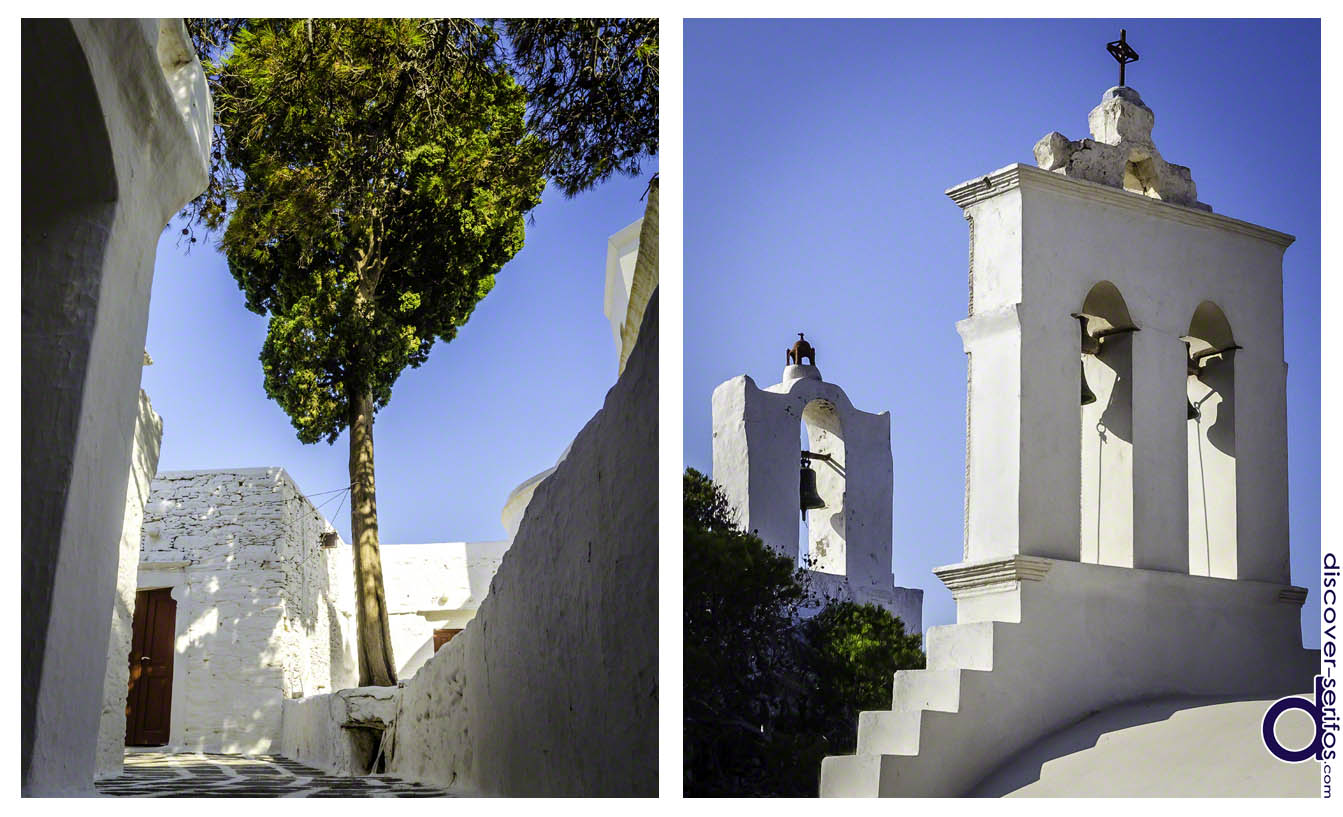 Monastery of Taxiarches in Serifos