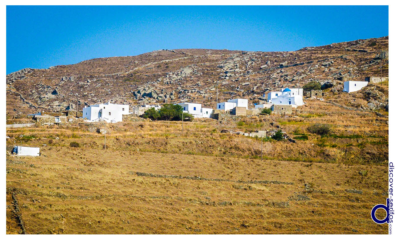 Pirgos village in Serifos