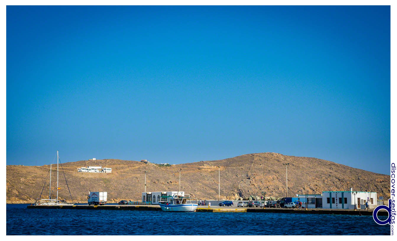 The port of Livadi - Serifos