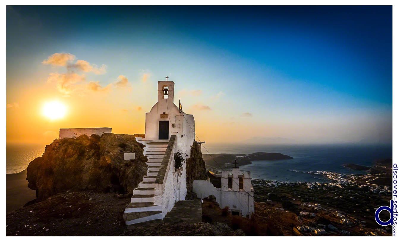 Serifos - Castle of Chora - Saint Constantine