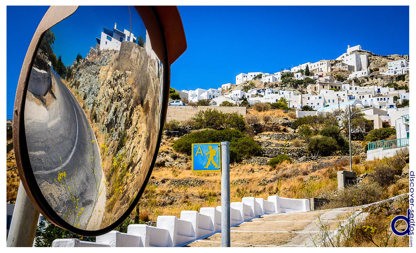 Serifos - Hiking trail A - Livadi-Chora