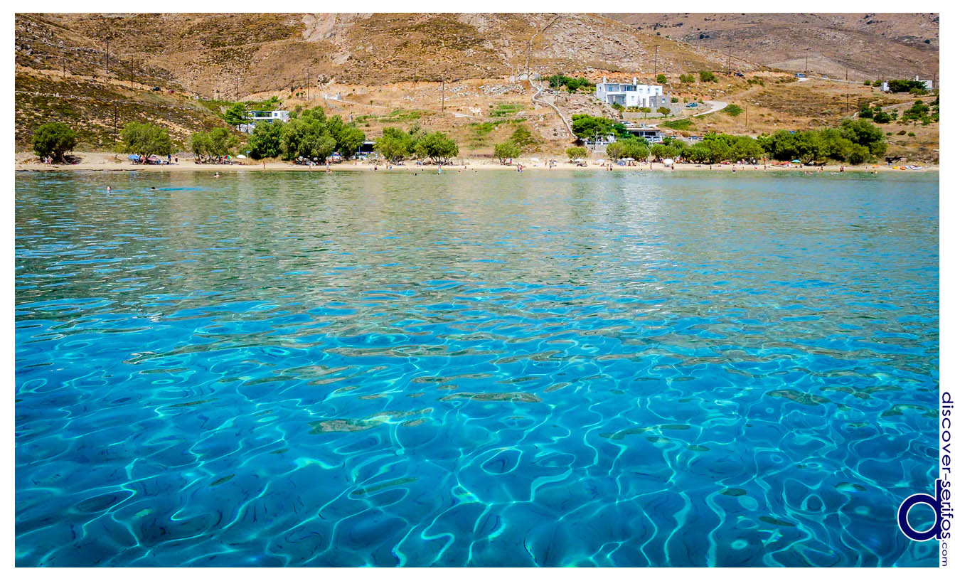 Serifos - Psili Ammos beach
