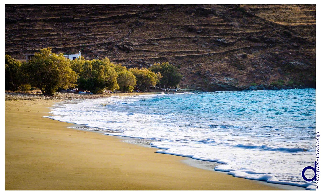 Sikamia Beach Serifos