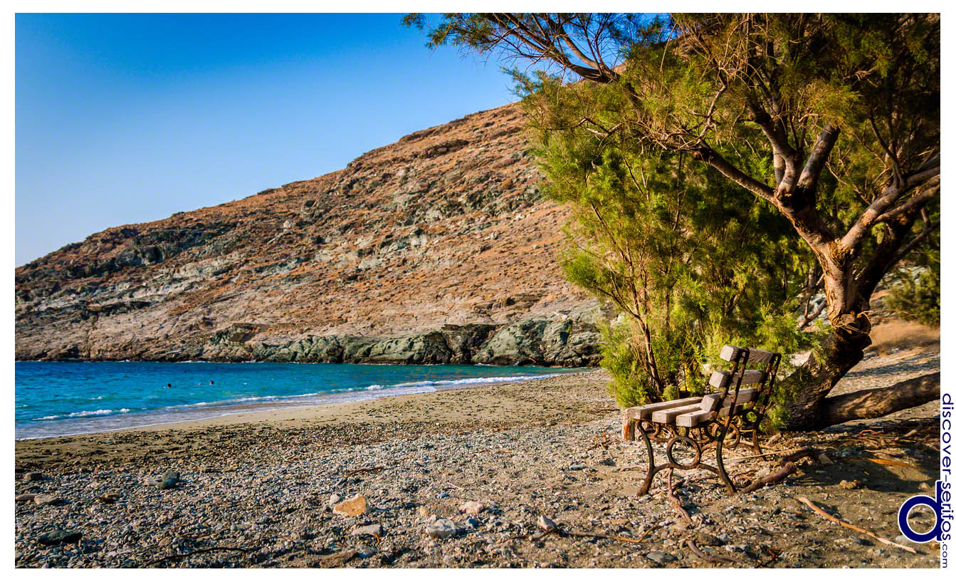 Sikamia beach in Serifos