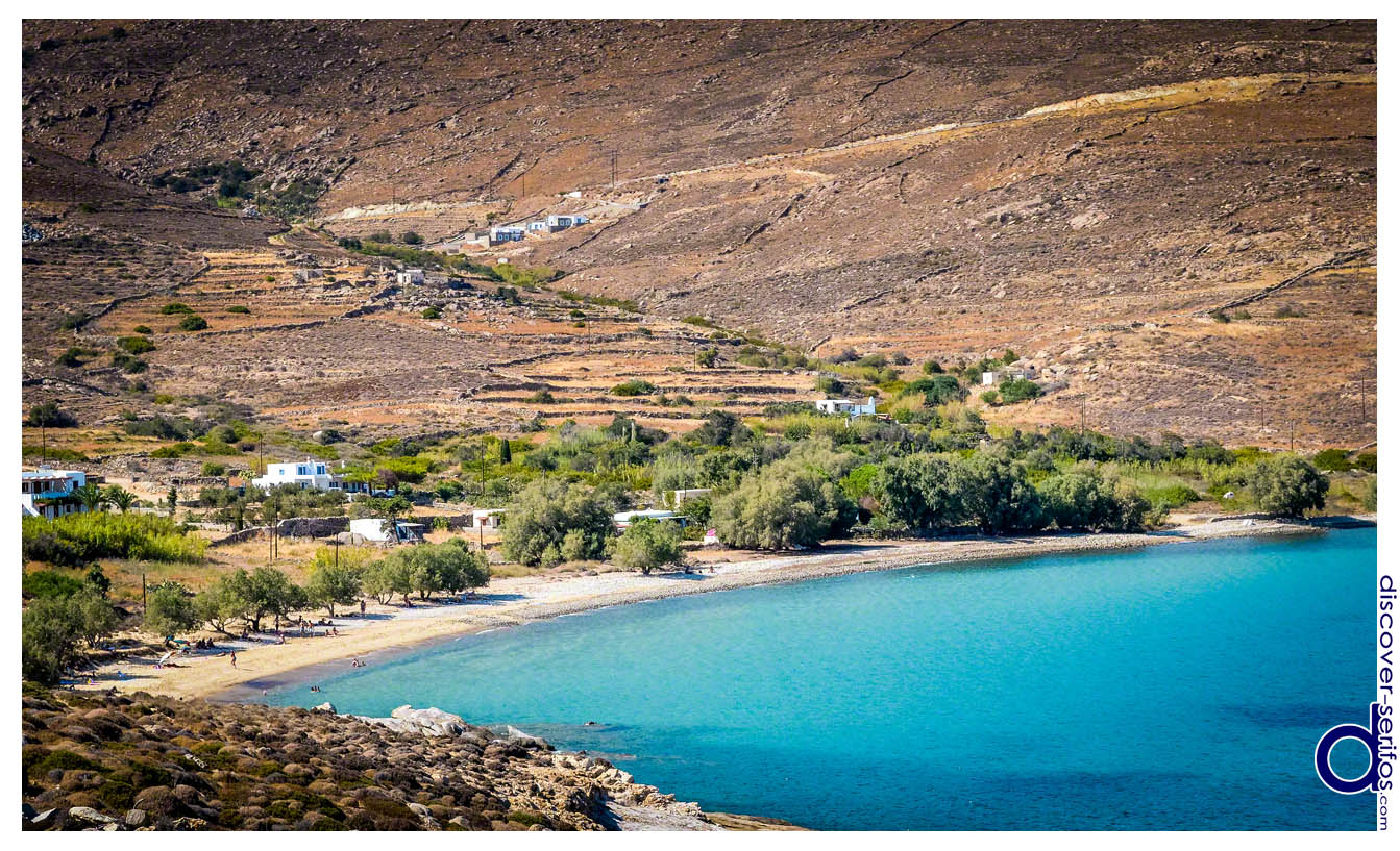 The beach and village of Ai Giannis