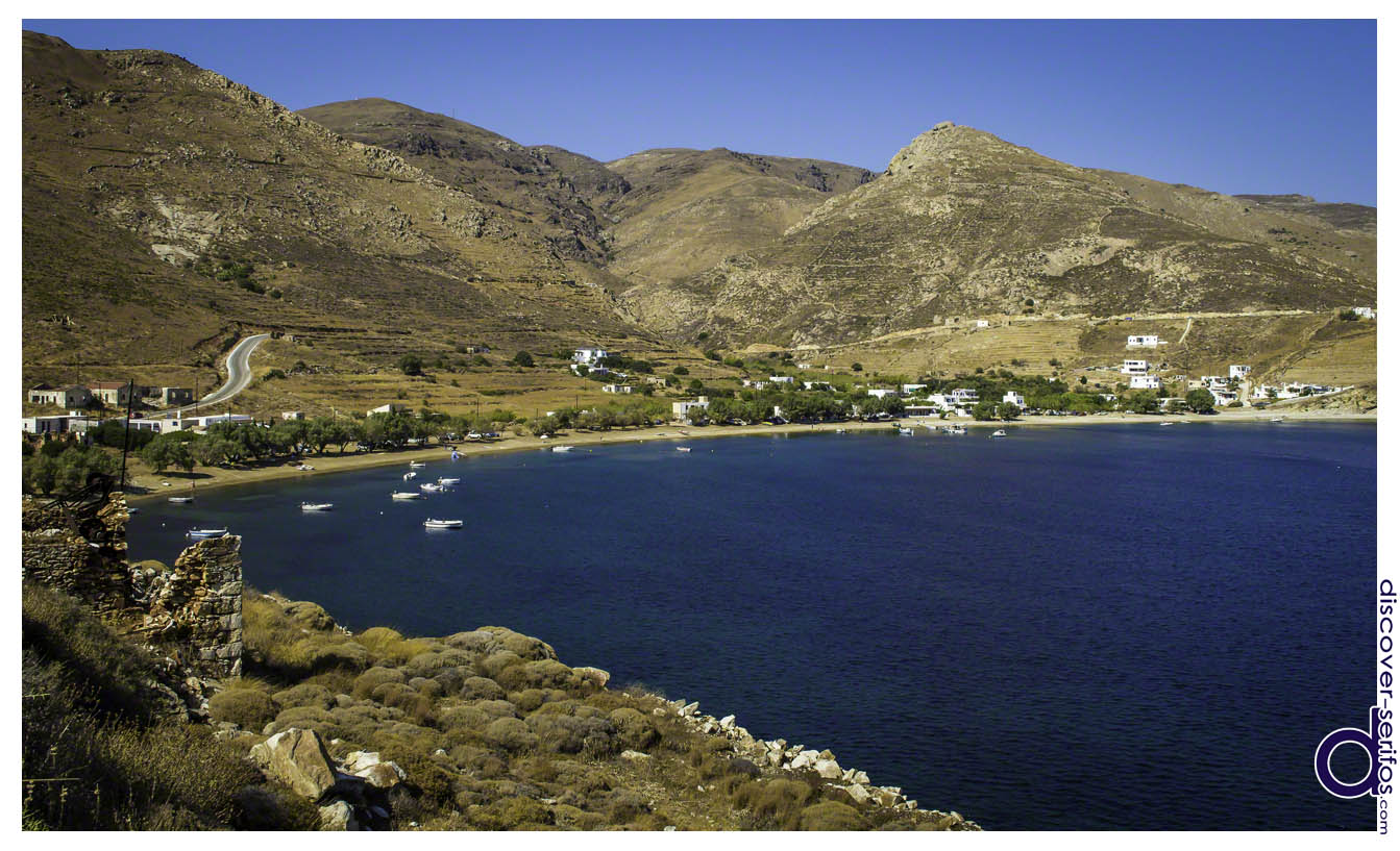 The village and beach of Koutalas - Serifos