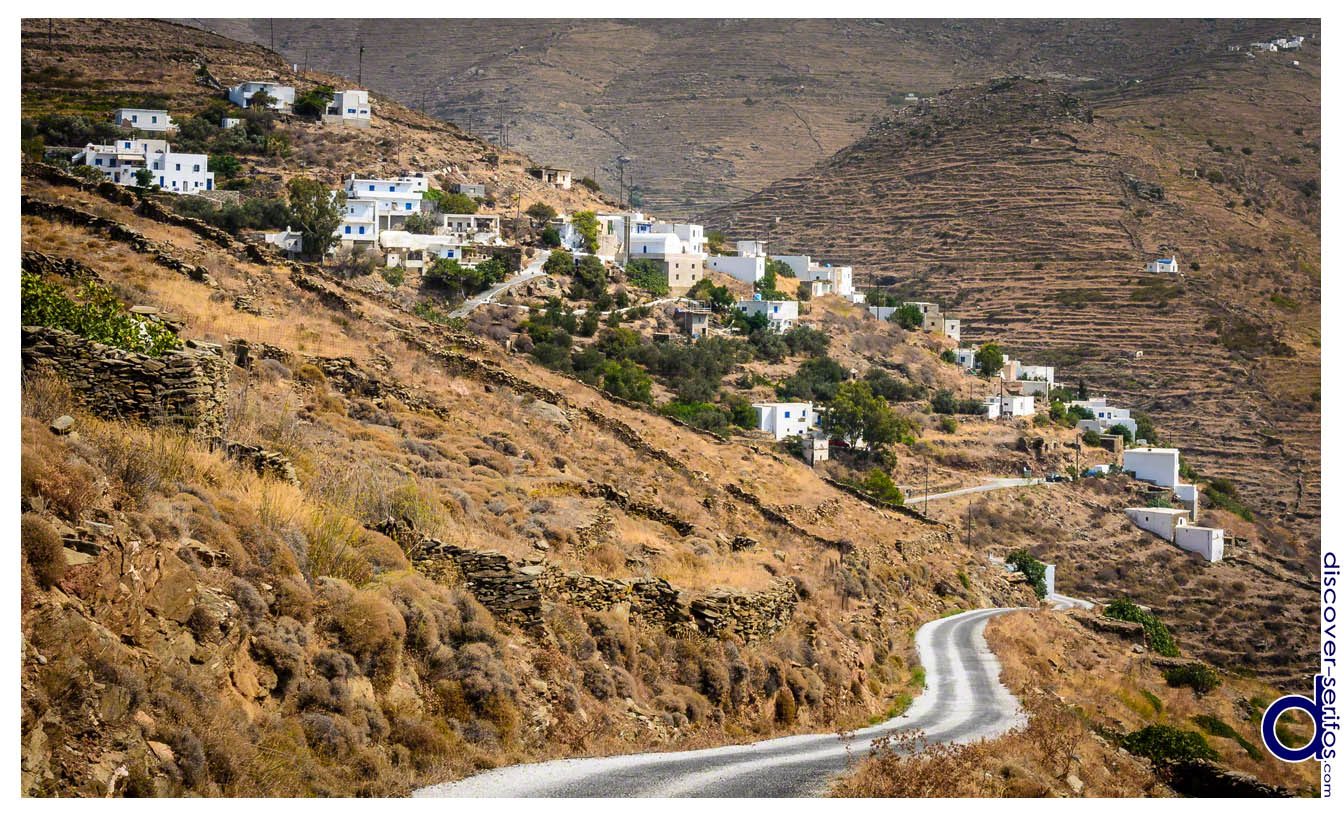 The village of Galani - Serifos