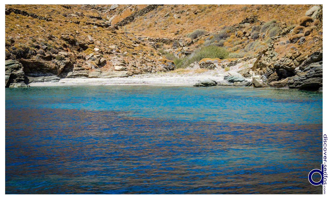 Vathia Lagada beach in Serifos