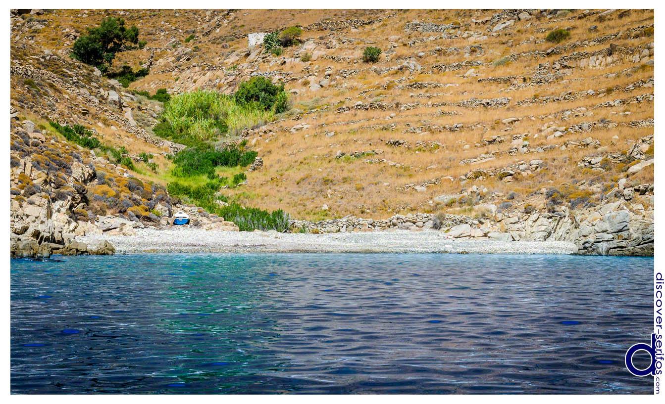 Vrakozostis beach - Serifos