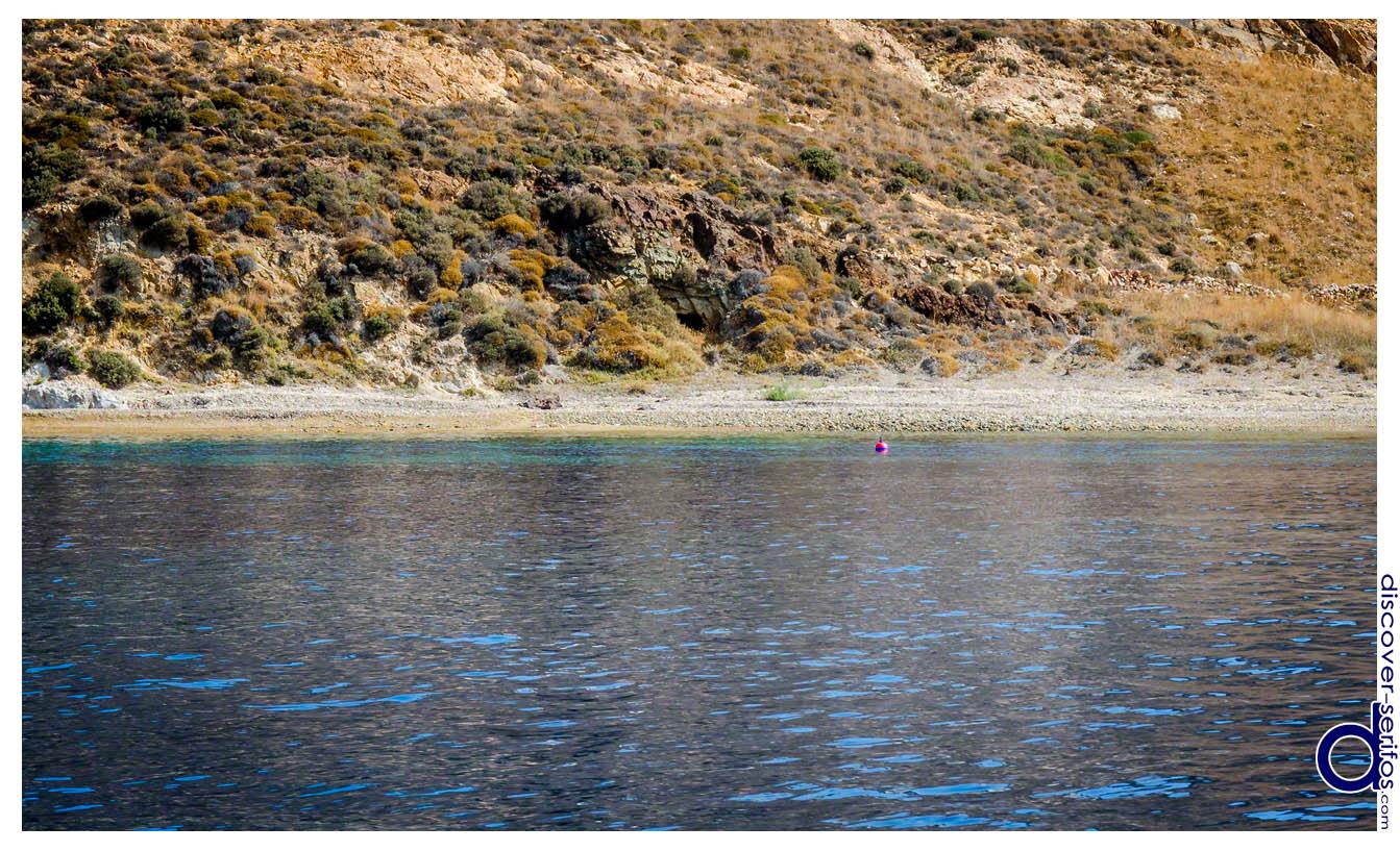 Vroulia beach - Livadi bay - Serifos