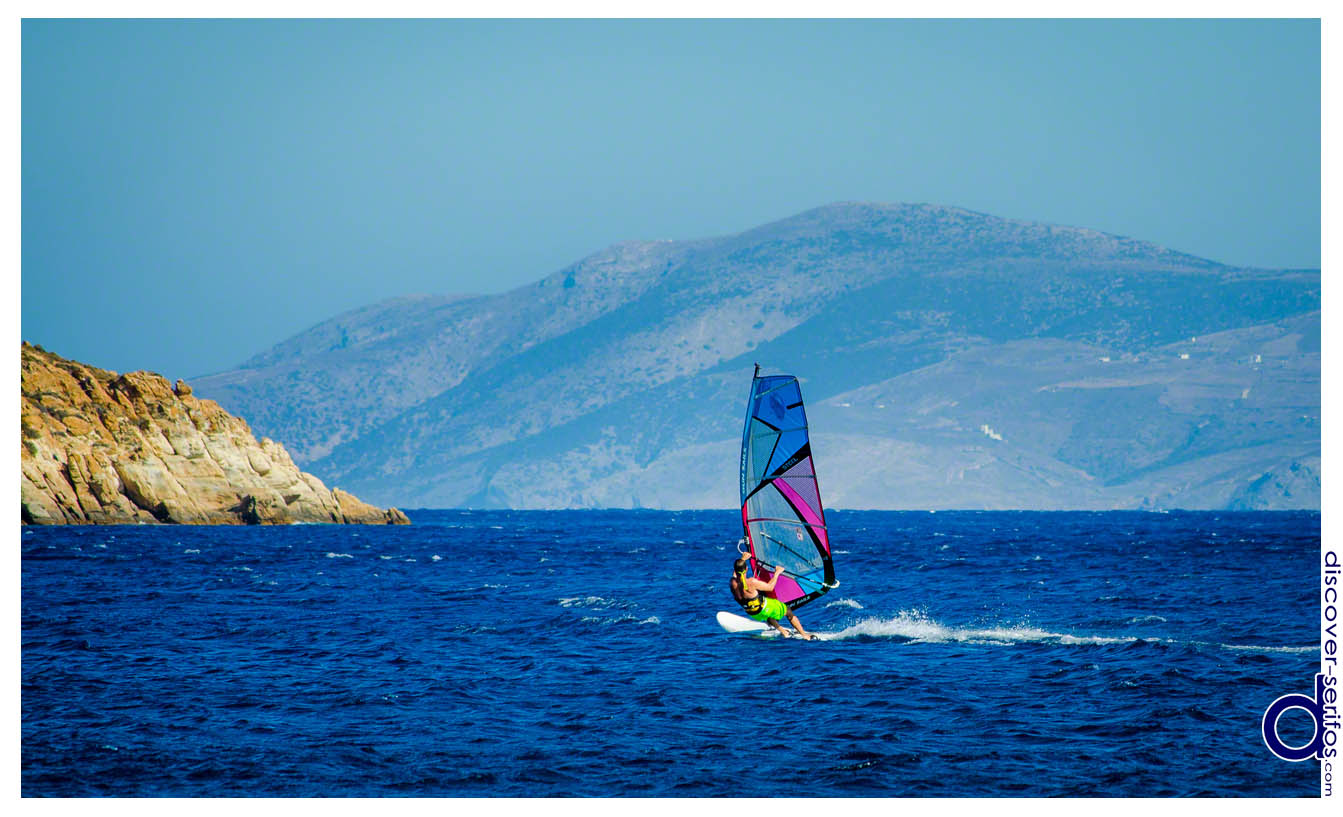 Windsurf in Livadakia - Serifos