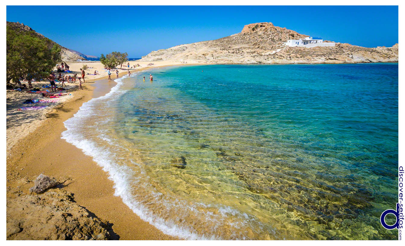 Άγιος Σώστης - Παραλία Σερίφου