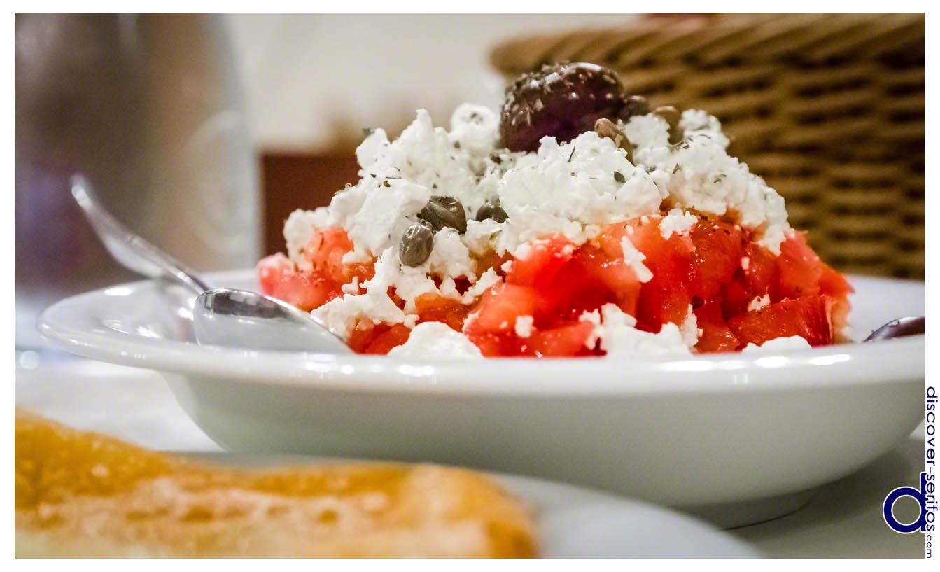 Φαγητό στη Σέριφο
