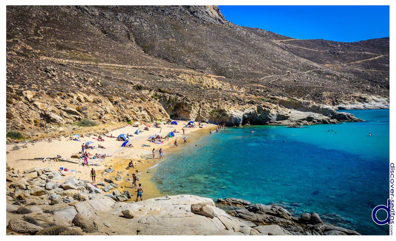 Discover Serifos - Όλες οι παραλίες